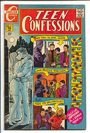 Teen Confessions #60 1970-Charlton-15¢ cover price-love thrills & emotions-VG