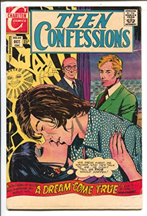 Teen Confessions #64 1970-Charlton-spicy rock 'n' roll cover art-love thrills & emotions--G/VG