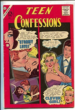 Teen Confessions #34 1965-Charlton-12¢ cover price-FN+