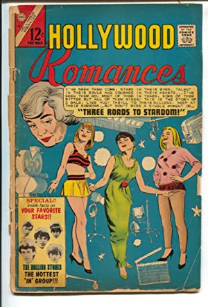 Hollywood Romances Vol. 2 #46 1966 Charlton-1st issue-Rolling Stones issue-rare-G-