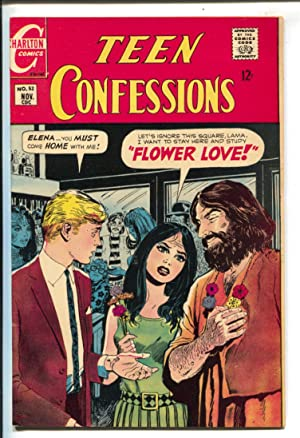 Teen Confessions #5 1968-Charlton-hippie romance-