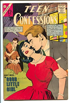 Teen Confessions #28 1964-Charlton-Dick Giordano art-12¢ cover price-love triangles-VG
