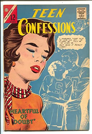 Teen Confessions #30 1964-Charlton-Dick Giordano art-12¢ cover price-love triangles-VF