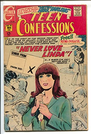 Teen Confessions #54 1969- Charlton-senior prom-swimsuits-headlights-VG+
