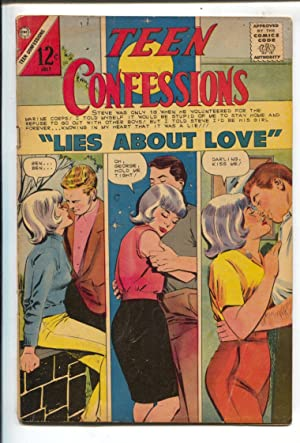 Teen Confessions #39 1966-Charlton-12¢ cover price-triple panel cover-VG+