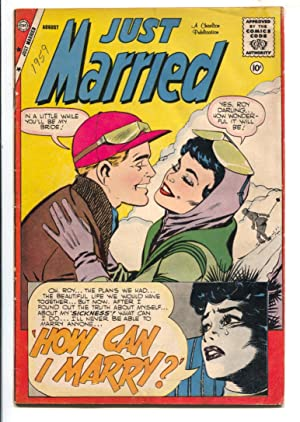 Just Married #9 1959-Charlton-bride story-snow skim cover-VG