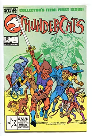 Thundercats #1 DC comic book 1985- 1st issue cartoon comic book NM-