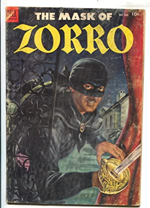Sword of Zorro-Four Color Comics #538 1954-Dell-Everett Raymond Kunstler art-Jackson McCulley-G