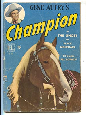 Gene Autry's Champion-Four Color Comics #287 1950-photo cover-1st issue-FR