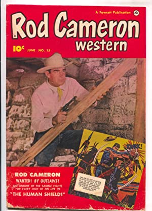 Rod Cameron Western #15 1952-Fawcett-B-Western film star photo covers-G