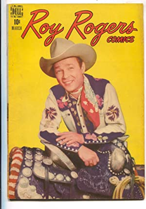 Roy Rogers #3 1948-Dell-B-western film star photo covers-Trigger photo inside back cover-VG/FN