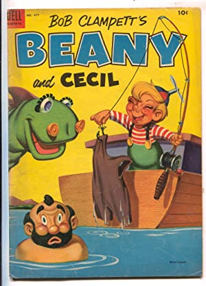 Bob Clampett's Beany and Cecil-Four Color Comics #477-Dell-based on TV series-VG
