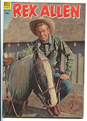 Rex Allen #12 1954-Dell-B-Western movie photo cover-VG
