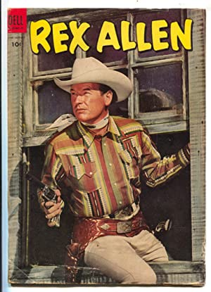 Rex Allen #13 1954-Dell-B-Western movie photo cover-VG