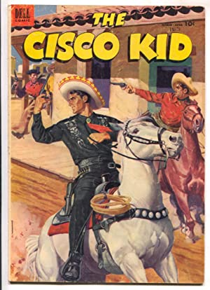 Cisco Kid #14 1953-Dell-Robert Jenny art-vampire bat feature-VG-