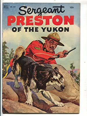 Sergeant Preston of The Yukon-Four Color Comics #397 1952-Dell-Morris Gollub painted cover-FN-