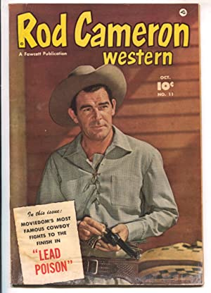 Rod Cameron Western #11 1951-Fawcett-B-Western film star photo covers-G