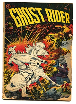 Ghost Rider #3 1951-ME-FRANK FRAZETTA western horror-Signed by DICK AYERS