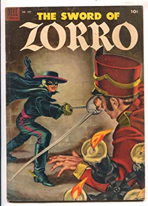 Sword of Zorro-Four Color Comics #497 1953-Dell-Everett Raymond Kunstler art-Jackson McCulley-VG-