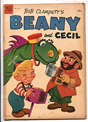 Bob Clampett's Beany and Cecil-Four Color Comics #570-Dell-based on TV series-VG-