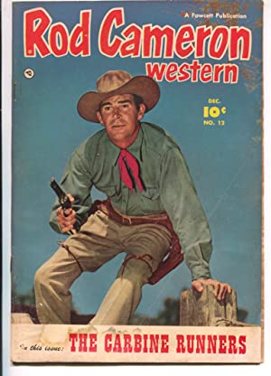 Rod Cameron Western #12 1951-Fawcett-B-Western film star photo covers-G