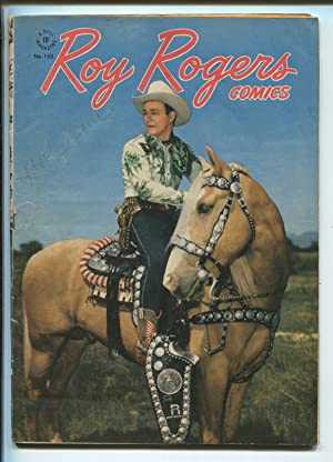 Roy Rogers-Four Color Comics #153 1947-The Mad Marksman-P