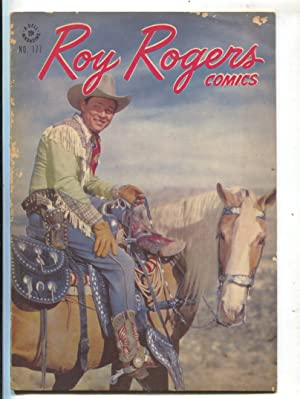 Roy Rogers-Four Color Comics #177 1947-Trigger-photo covers-book length story-G/VG