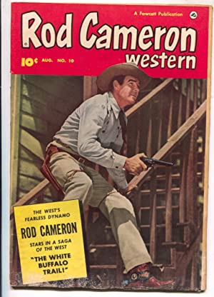 Rod Cameron Western #10 1951-Fawcett-B-Western film star photo covers-G/VG