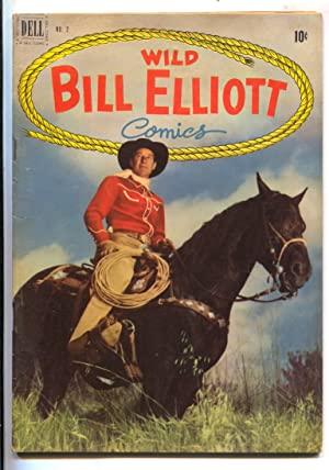 Wild Bill Elliott #2 1950-Dell-photo cover-female bondage panels-Robert Jenny art-FN/VF