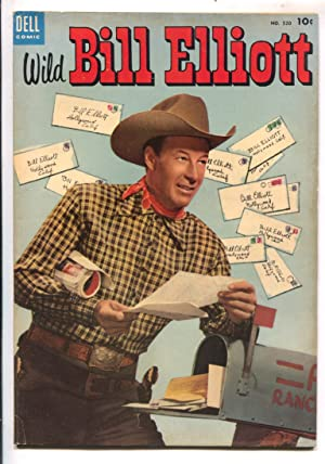 Wild Bill Elliott,-Four Color Comics # 520 1953-Dell-B-western film star-VF-