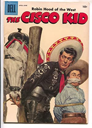 Cisco Kid #35 1957-Dell-Robert Jenny art-bondage cover-FN+