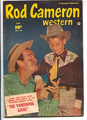 Rod Cameron Western #14 1952-Fawcett-B-Western film star photo covers-G/VG