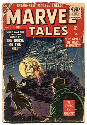 Marvel Tales #143 1955-Atlas horror comic FAIR