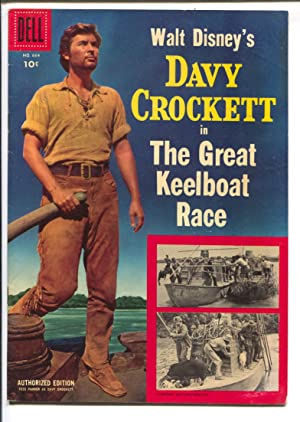 Davy Crockett in The Great Keelboat Race-Four Color Comics #664 1955-Dell-Disney Film Edition-FN