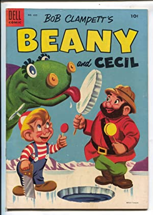 Bob Clampett's Beany and Cecil-Four Color Comics #635 1954-Dell-based on TV cartoon series-FN/VF