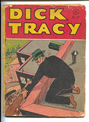 Dick Tracy Four Color Comics #163-Dell-Chester Gould crime art-Rogues Gallery-G-