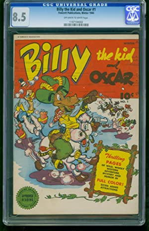 BILLY THE KID AND OSCAR #1-CGC 8.5-GOLDEN-AGE-VF-SOUTHERN STATES 1197194002
