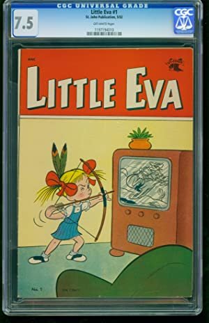 Little Eva #1-CGC 7.5 Highest Graded Copy -Southern States Collection 1197194010