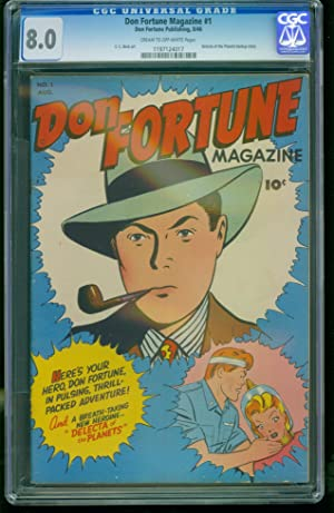 Don Fortune Magazine #1-CGC 8.0 2nd Highest- CC Beck-SOUTHERN STATES 1197124017