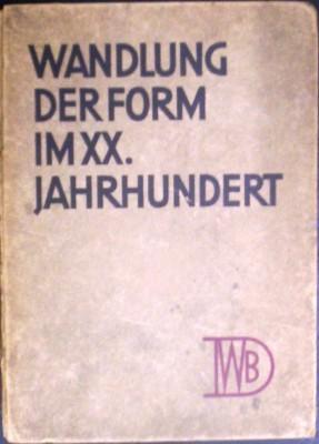 Wandlung der Form im XX. Jahrhundert: Kropp, Ernst