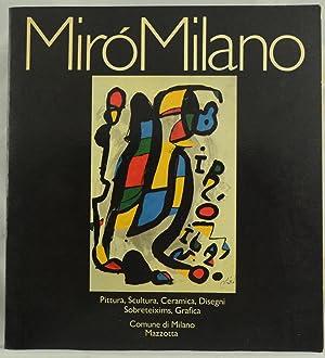 Miro Milano, Pittura, Scultura, Ceramica, Disegni, Sobreteixims,