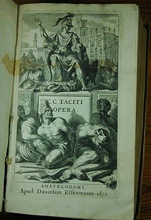 C. Cornelii Taciti Opera, Quae Exstant: Tacitus, Caius Cornelius