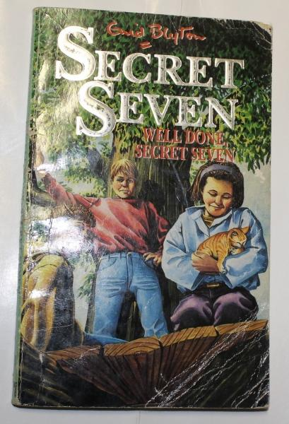 Well Done Secret Seven Book