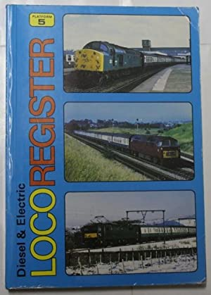 Diesel And Electric Locomotive Register: Sugden, Alan