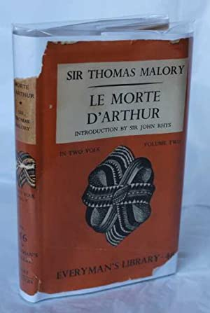 Le Morte D'Arthur in Two Vols (Volume: Malory (Introduction by