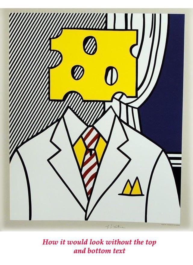 Moffett for Senator (SIGNED poster by Roy Lichtenstein) by ...
