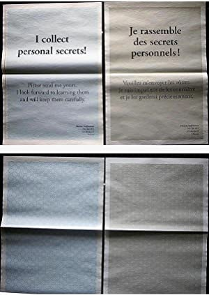 I Collect Personal Secrets! #43 (periodical with original art by Hreinn Fidfinnsson)