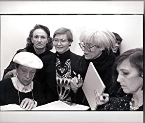 Book Signing at Robert Miller 1987 (Louise: Louise Bourgeois, Andy