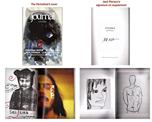 "Journal, the No. 22 (SIGNED supplement ""Ithaka"": PIERSON, Jack /"