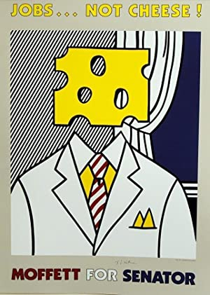 Moffett for Senator (SIGNED poster by Roy Lichtenstein)